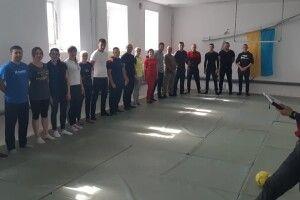 На Поліссі правоохоронці вчилися захищатися