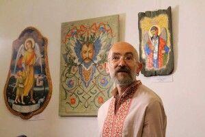 Сакральний простір Юрія Нікітіна розгорнули у Музеї волинської ікони
