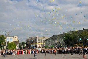 На Рівненщині влаштували випускний без кульок і сміття