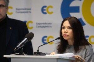 Вікторія Сюмар: «Європейська Солідарність» єдина політична сила, яка показує суттєве зростання електоральної підтримки (Інфографіка)