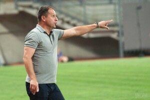 Юрій Вернидуб подав у відставку з поста головного тренера «Зорі»