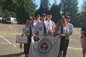 Ківерцівська команда «Тивер» перемогла на XVI Всеукраїнських змаганнях «Школа безпеки»