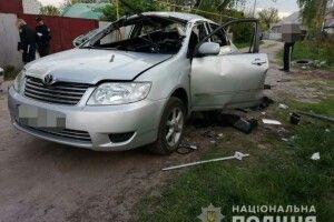 У Харкові на Великдень в автівку кинули гранату (фото)