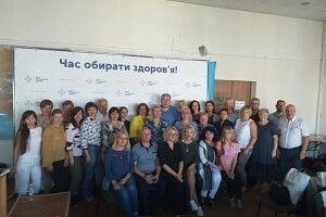 Представник Волинського центру здоров'я виступив на тренінгу у Києві