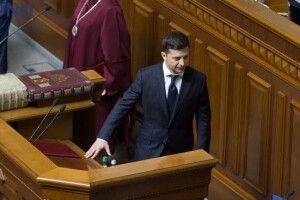 Президент України Володимир Зеленський прибув до парламенту