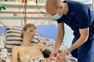 13-річний хлопець ізлюбешівського села Зарудчі має нове серце