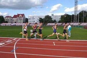 У Луцьку триває чемпіонат з легкої атлетики серед юніорів