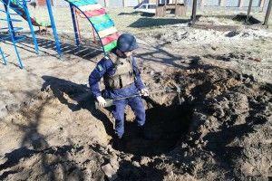 На території дитячого садочка... знайшли міни (фото)