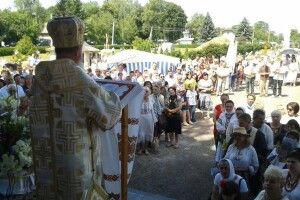 Владика Йосафат молився за українську сім'ю у Маріямполі