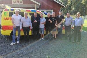 Тростянецька громада отримала «швидку» від шведського мецената