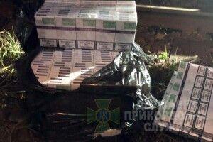 На кордоні з Польщею виявили контрабандні сигарети (Фото)