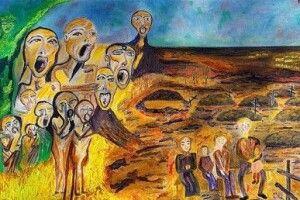 Італійський байкар приурочив до Голодомору в Україні колекцію картин