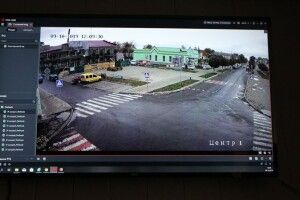 У Любешові вже декілька днів повноцінно працює система відеоспостереження