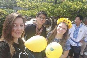 Горохівчанка Тетяна Сміховська викладає в... Японії
