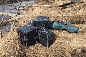 Прикордонники на Волині перехопили 24 ящики контрабанди