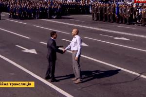 Вчителя Пауля Пшенічку нагородили орденом