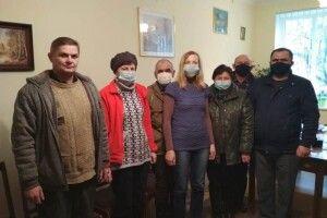 Як на Любешівщині вітали з професійним днем аграріїв (Фото)