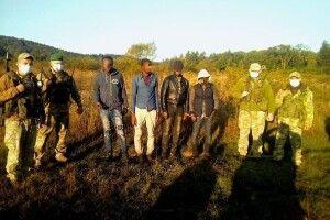 Прикордонники затримали «квартет» нелегалів із Африки