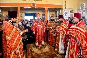 Божественну літургію у день престольного свята в Угриничах очолив архієпископ Нафанаїл
