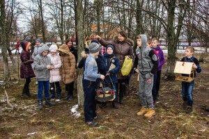 Волинян закликали не шкодувати сала для пернатих