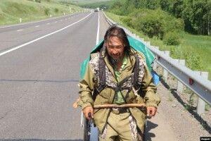 Сибірського шамана, який прошкував до Москви «виганяти Путіна», оголосили «екстремістом»