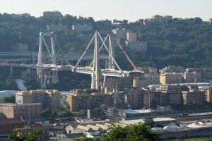В Генуї знесли міст, під завалами якого минулого року загинули понад 40 людей (відео)