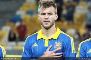 Андрій Ярмоленко не захотів розмовляти українською мовою