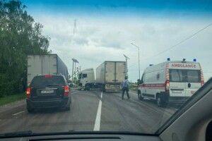 На трасі Луцьк–Горохів сталася ДТП: є постраждалі (Фото)