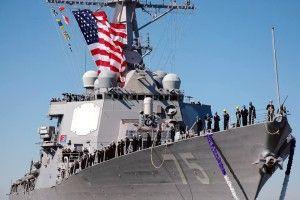В Чорне море заходить есмінець шостого флоту ВМС США «Donald Cook»