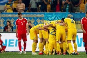 Букмекери не надто вірять в перемогу збірної України над сербами