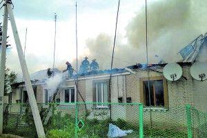 Ківерцівський поліцейський Сергій Воробйов, жертвуючи собою, рятував погорільців