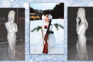 Ліричні й патріотичні: ави вже зліпили снігову бабу?