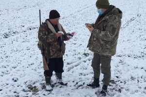 На Волині оштрафували двох мисливців, які порушили умови полювання (Фото)
