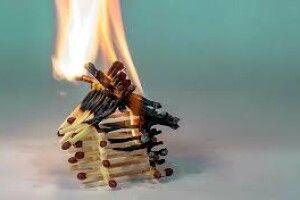На Рівненщині чоловік згорів у власному будинку