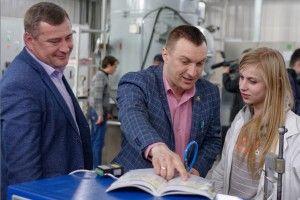 На Луцькому ремонтному заводі «Мотор» молодь отримала можливості для розвитку