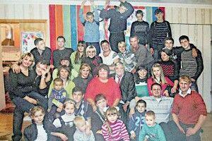 Подружжя виховало 46дітей івже 49разів ставало бабусею тадідусем