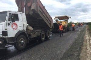 Біля Макович на Турійщині відремонтують два кілометри дороги