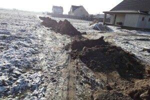 У селищі на Волині зробили дорогу з білощебеневим покриттям (Фото)