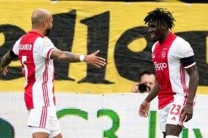 Амстердамський «Аякс» у чемпіонаті Нідерландів здобув перемогу з рахунком 13:0