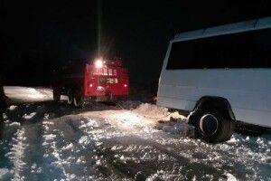 На Волині маршрутка з пасажирами злетіла в кювет (Фото)
