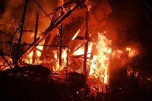 У селі на Горохівщині горіла хата