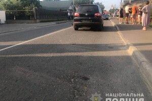 На Рівненщині 20-річний хлопець на смерть збив жінку (Фото)