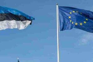 Естонська опозиція вимагає повернути до парламентського Білого залу прапори ЄС