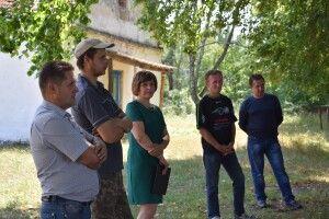 У селі на Поліссі громада облаштувала ігровий майданчик, тепер планує – рекреаційну зону біля озера