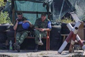 У демілітаризованій зоні Станиці Луганської помітили бойовиків