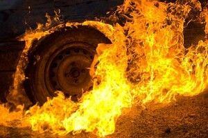 Хто підпалив іномарку?