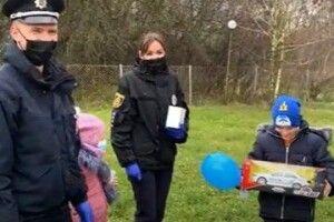 Поліцейські здійснили мрію 8-річного хлопчика з Рівненщини