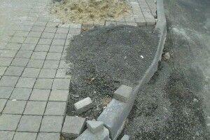 «Луцьктепло» залишає після своїх робіт розриті дороги та тротуари