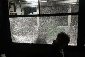 У Львові невідомі обстріляли пасажирський автобус