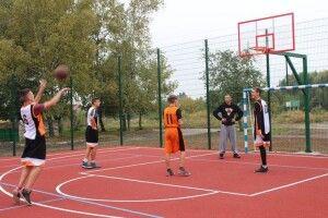 Два спортивні майданчики відкрили у Нововолинську